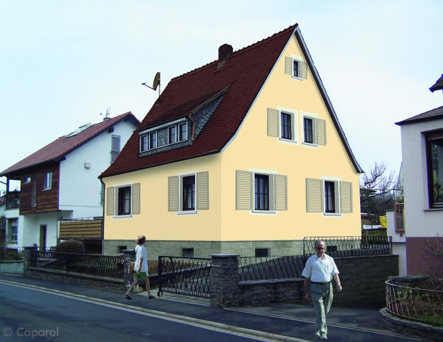 fassadengestaltung malereibetrieb kirchhoff. Black Bedroom Furniture Sets. Home Design Ideas